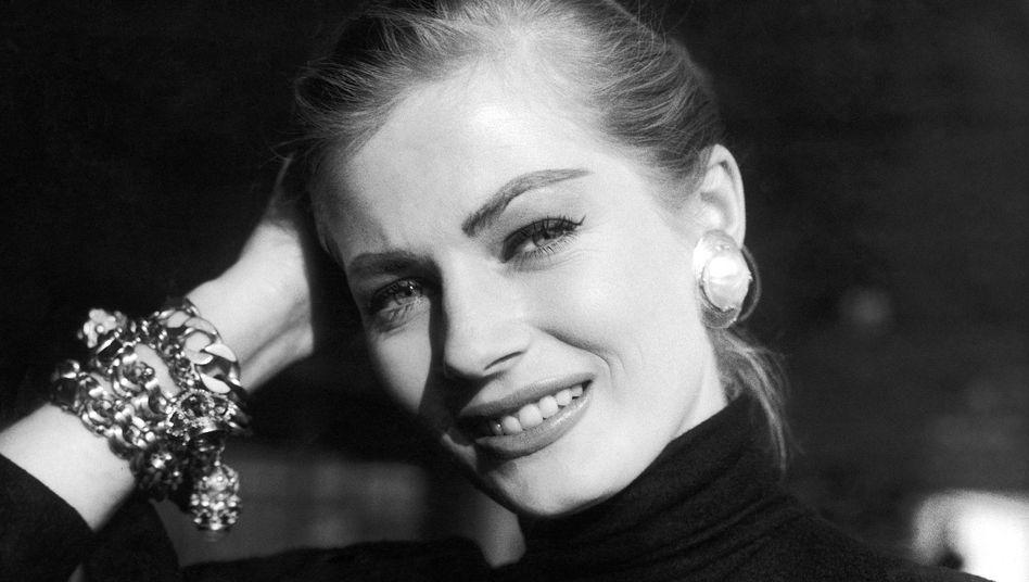 Anita Ekberg (im Jahr 1955): Zu schön, um Praktikantin zu sein?