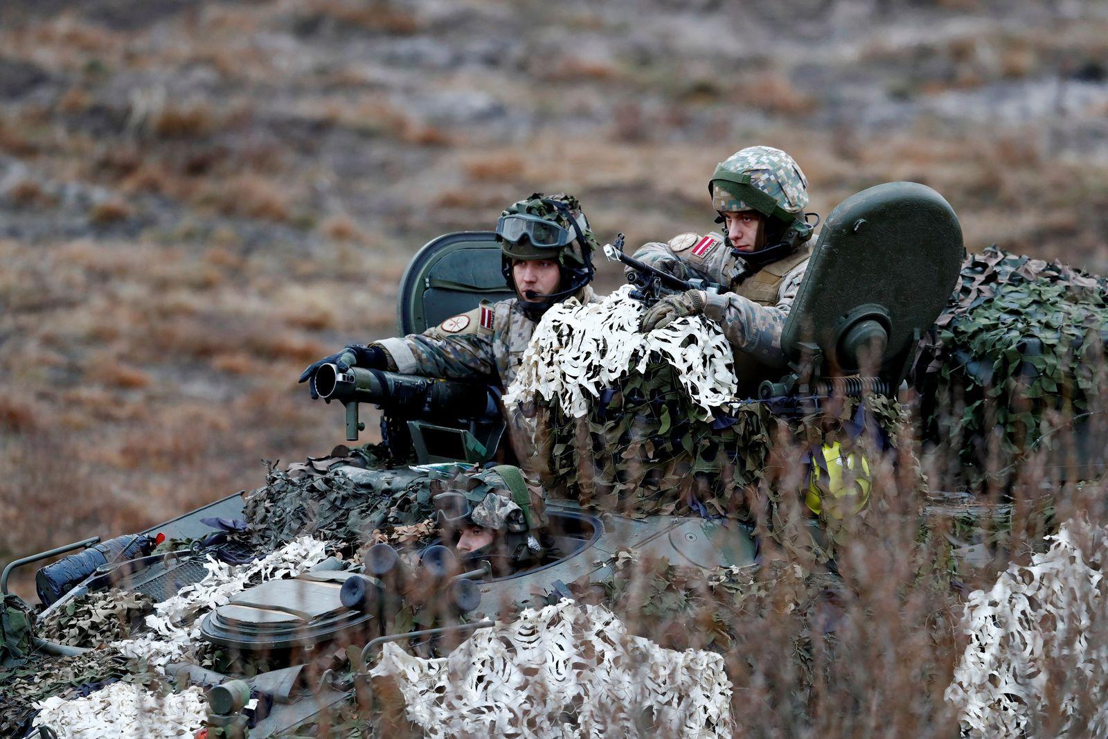 LATVIA-NATO/