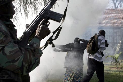 Nairobi (Januar 2008): Die Gewalt wurde von höchster Stelle gelenkt