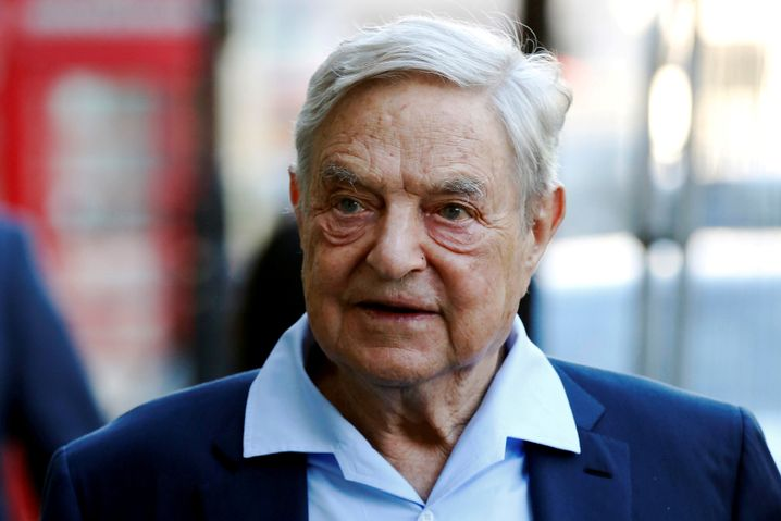 Universitätsgründer und Milliardär George Soros