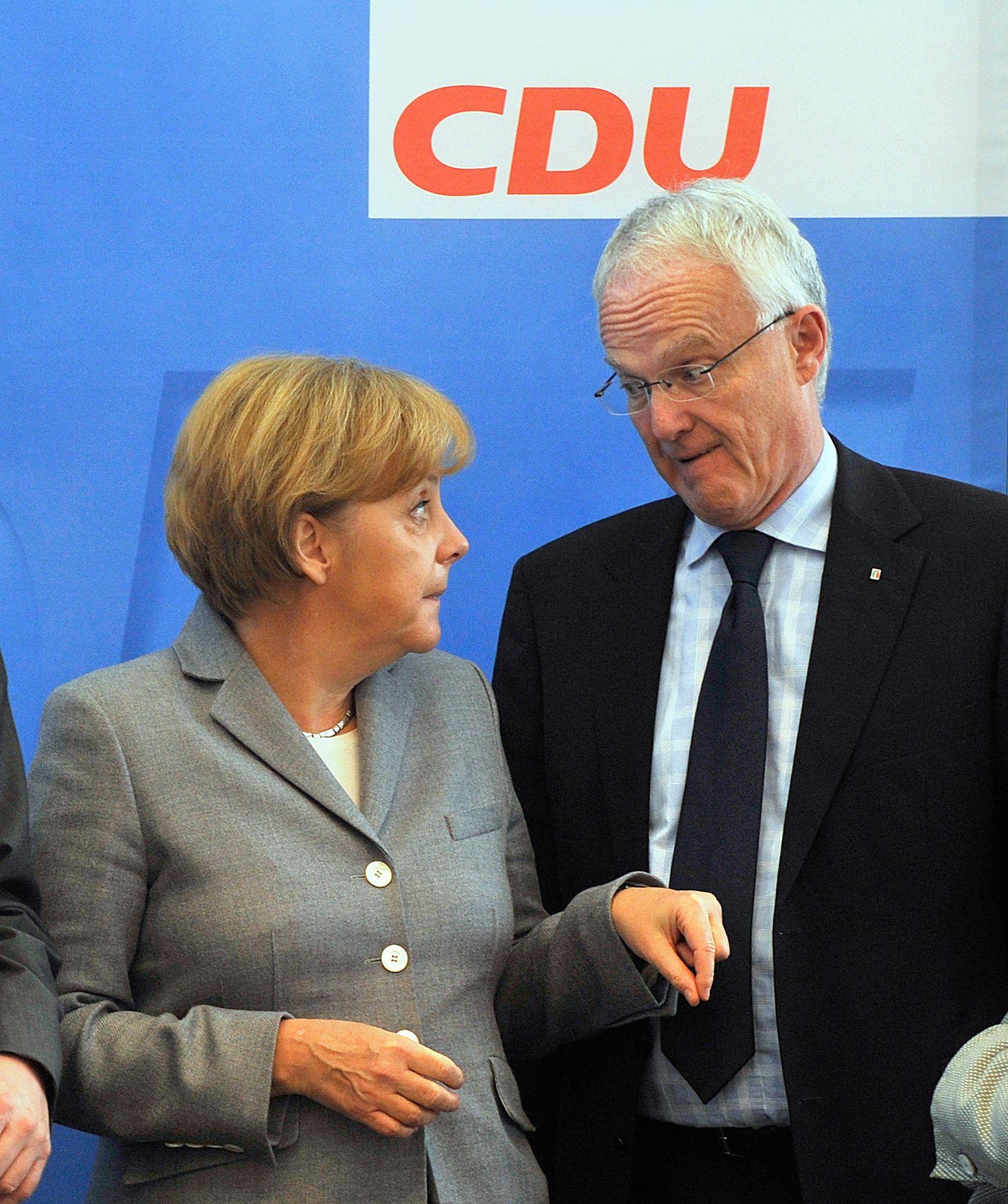 Merkel/ Rüttgers