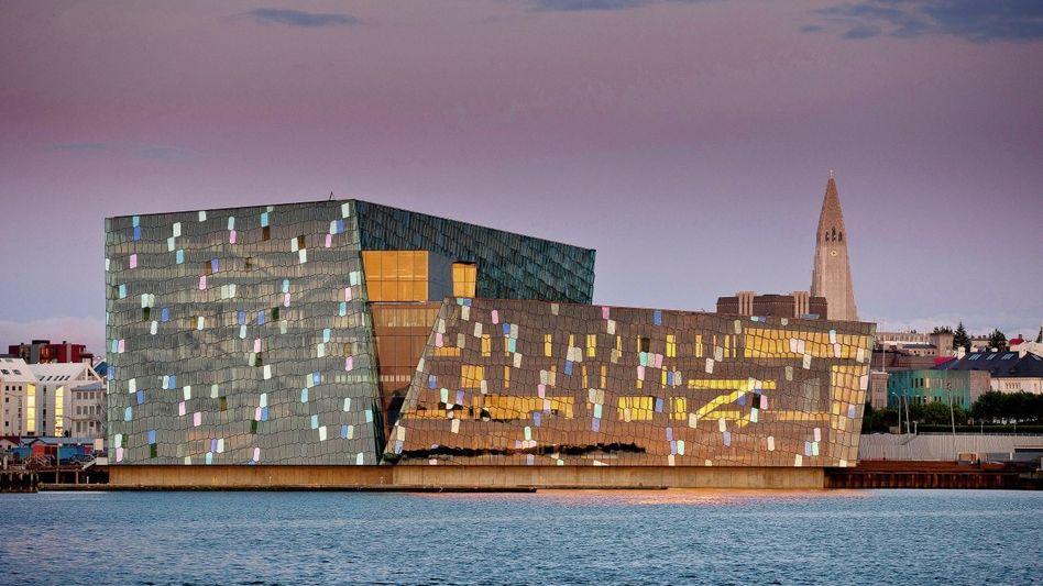 Fertiggestellte Konzerthalle in Reykjavik: Kollektiver Konsumrausch