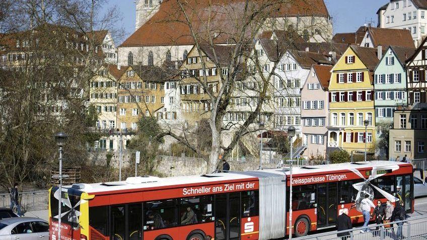 Bus in Tübingen: Traum von einer Stadt ohne Schwarzfahrer