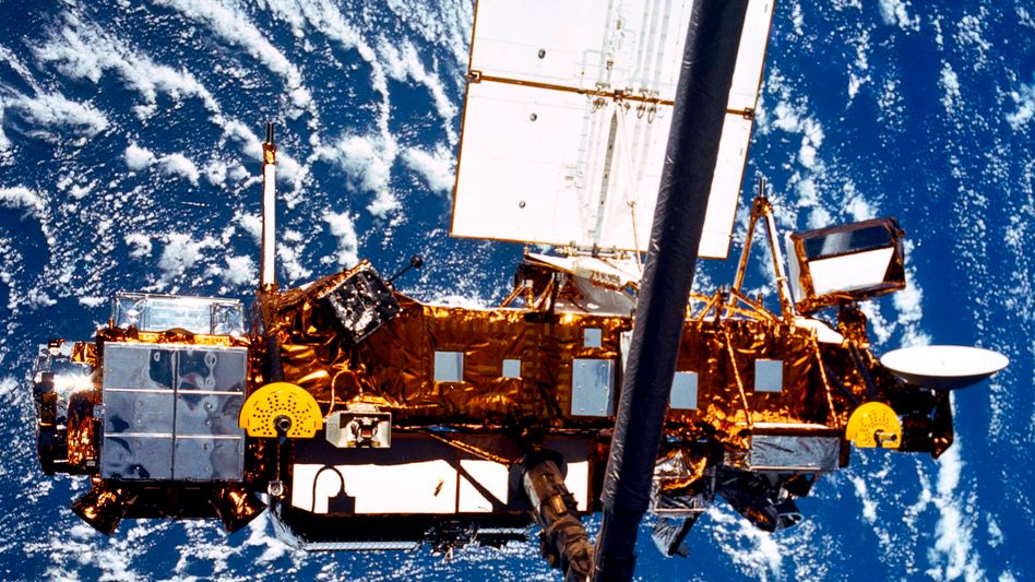 """UARS"" im Orbit: Satellit stürzte über dem Ozean ab"