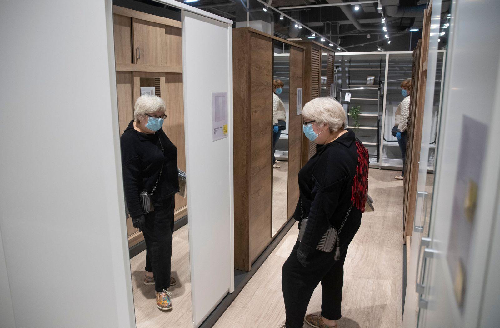 Danish household retailer Jysk opens fist offline store in Moscow, Russian Federation - 04 Jun 2020