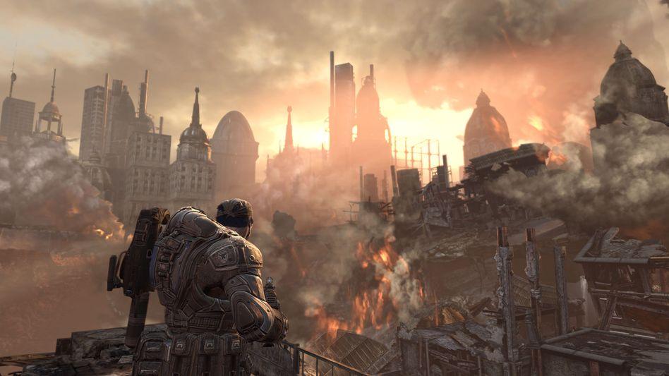 Gears of War 2: In Deutschland erschien der US-Titel wegen des Jugendschutzes nicht