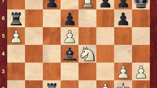 Schachpartie Anand gegen Topalov
