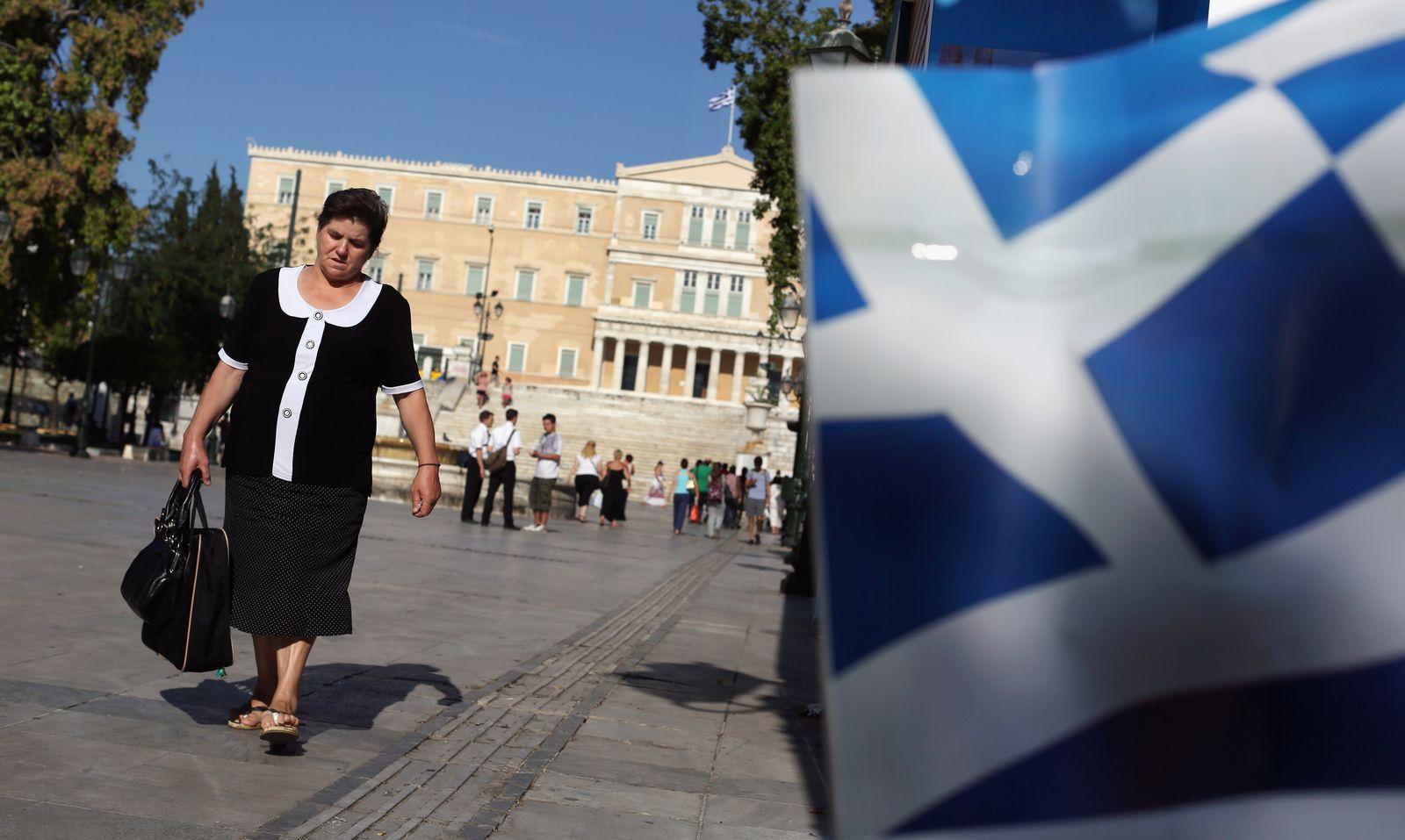 Griechenland/ Parlament