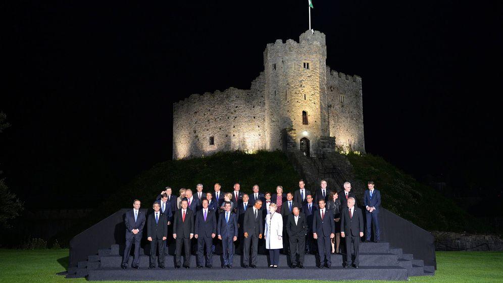 Gipfel in Wales: Die Papp-Kameraden der Nato
