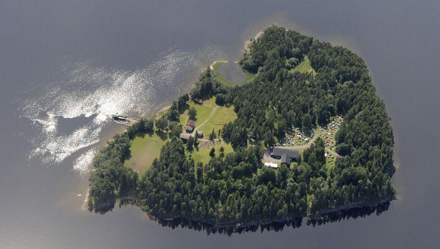 Insel Utøya: Ministerpräsident Stoltenberg sollte am Samstag in dem Jugendlager sprechen