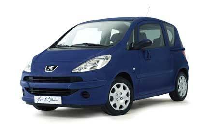 Peugeot 1007 Yves Klein: Blauer Franzose mit Werbe-Effekt