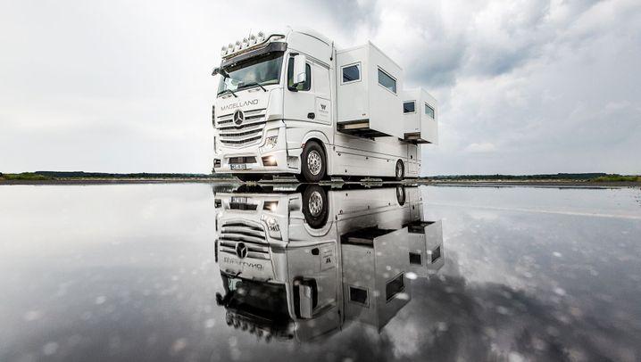 Luxus-Laster-Wohnmobil Magellano: Gemächliche Gemächer