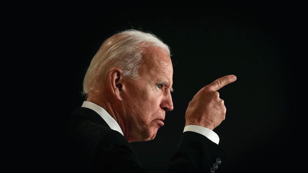 """Herausforderer Biden: """"Also, darum geht ... die Leben von ... Denkt darüber nach!"""""""
