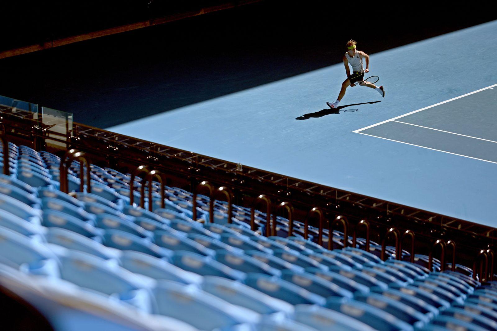 Tennis Australian Open 2021, Melbourne, Australia - 12 Feb 2021