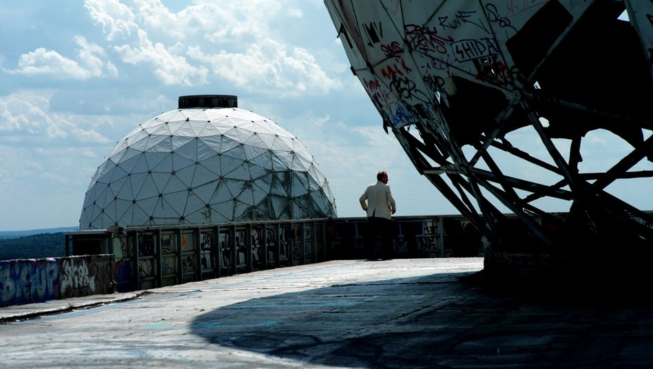 The ruins of a former Cold War NSA listening post on the outskirts of Berlin.