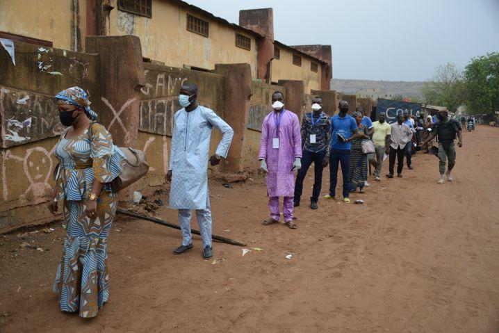 Demokratisches Votum trotz Corona: Bürger geben in Mali ihre Stimme ab, um ein neues Parlament zu wählen