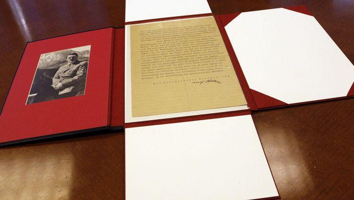 Früher Brief: Erstes antisemitisches Dokument Hitlers veröffentlicht