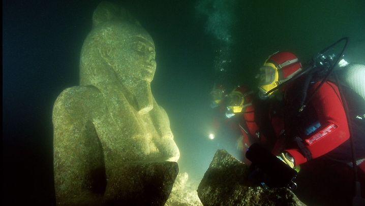 Ägyptischer Hafen: Funde in Thonis-Heracleion