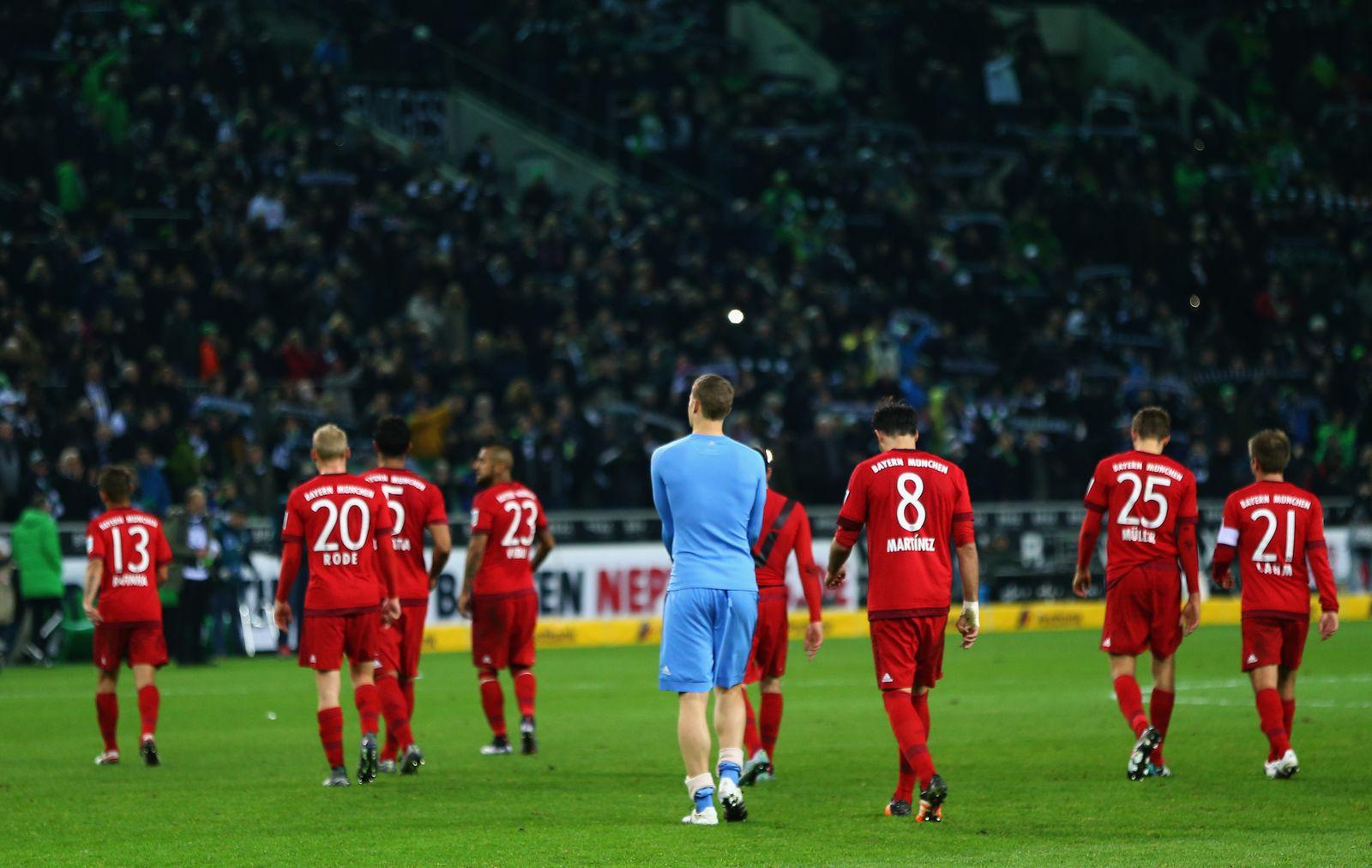 Bayern hängende Köpfe