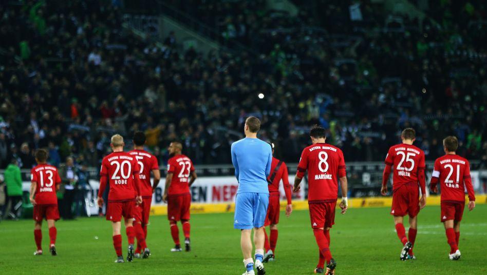 (Nieder-)Geschlagen: Bayern nach dem 1:3 in Gladbach