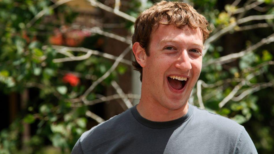 Facebook-Boss: Mark Zuckerberg hat gut 500 Millionen Nutzer und eine neue Wortmarke