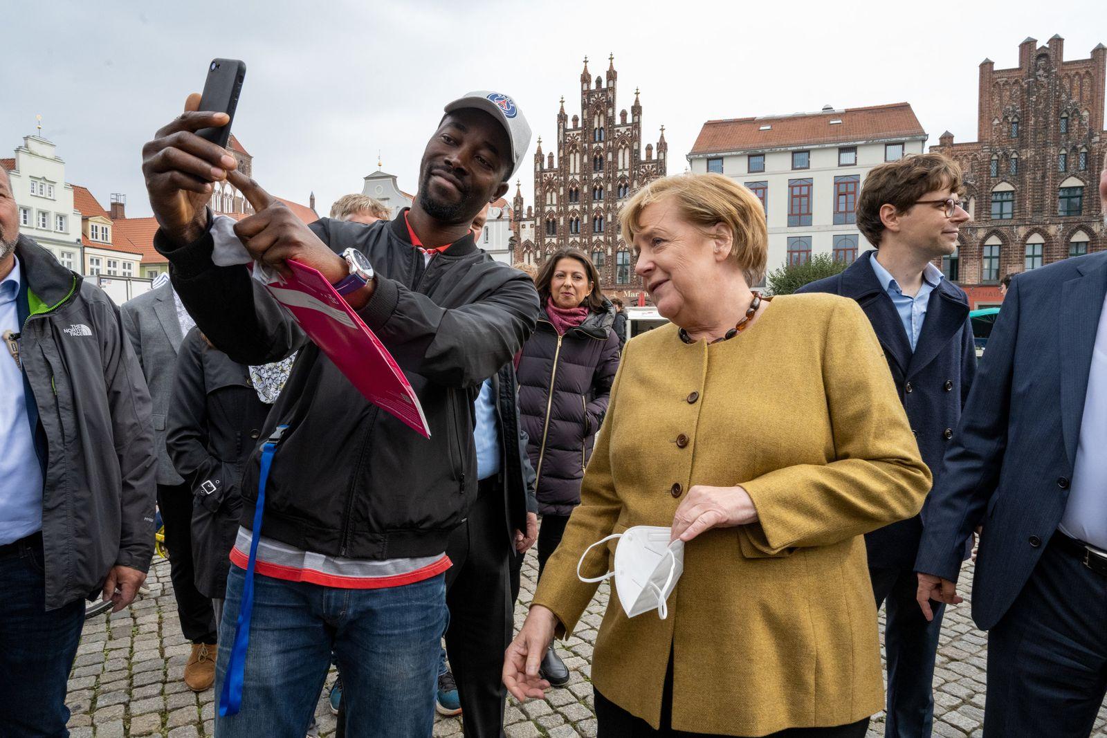 Bundeskanzlerin besucht Mecklenburg-Vorpommern