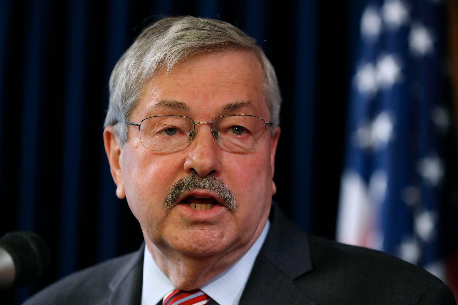 US-Botschafter Branstad tritt von Posten in China zurück