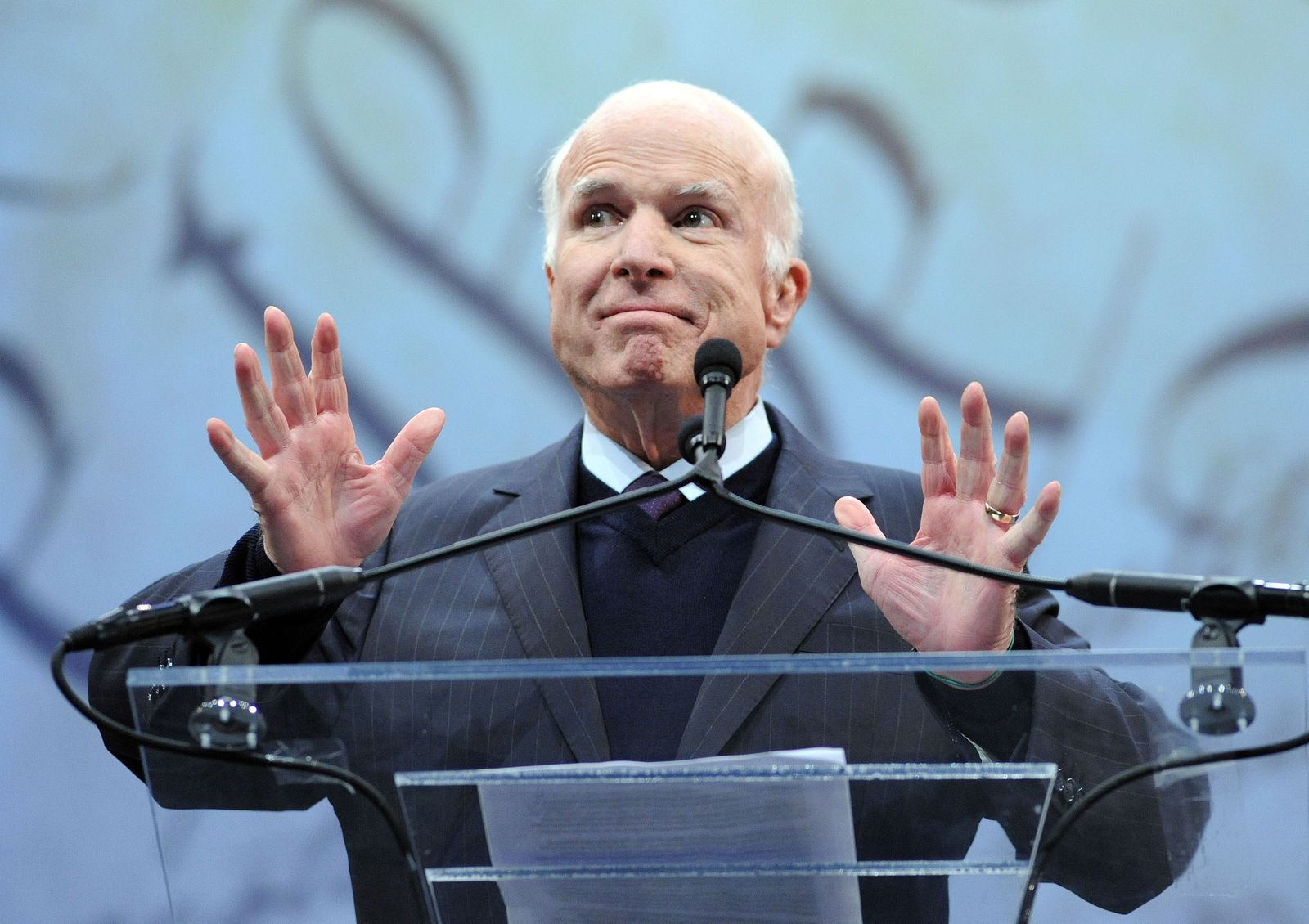 US-JOHN-MCCAIN-HONORED-WITH-LIBERTY-MEDAL-FOR-A-LIFETIME-OF-SERV