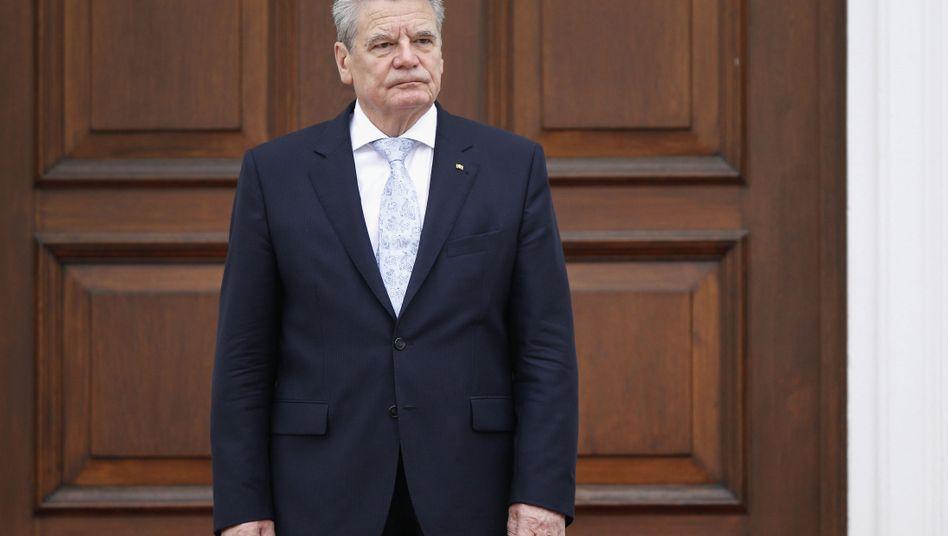 Bundespräsident Gauck: Braucht mehr Informationen in der Spähaffäre