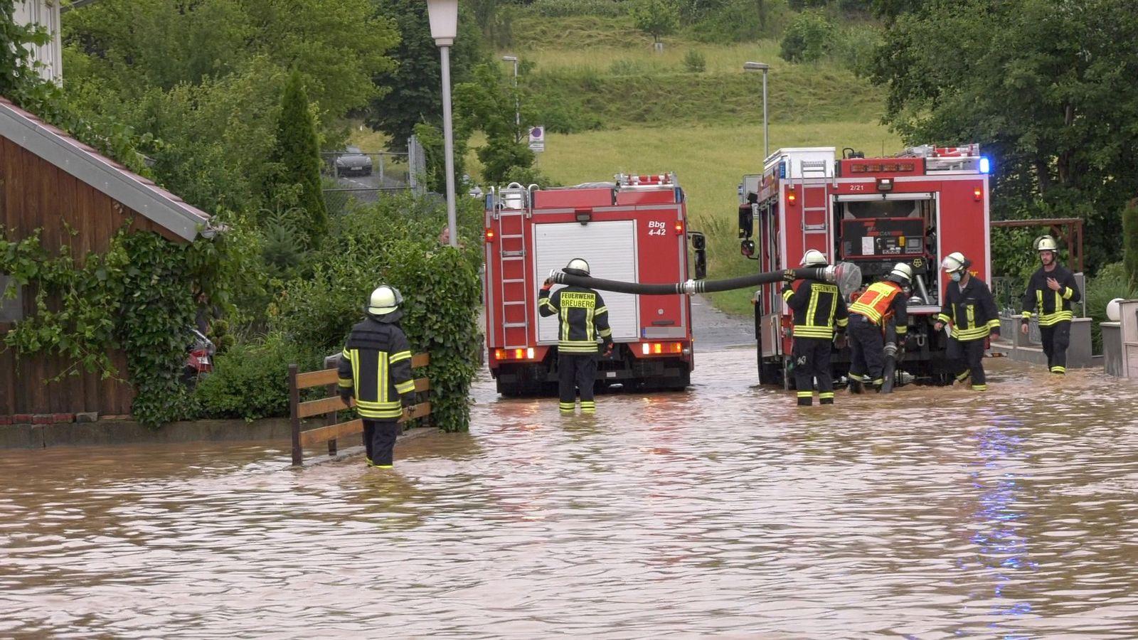 Unwetter in Hessen