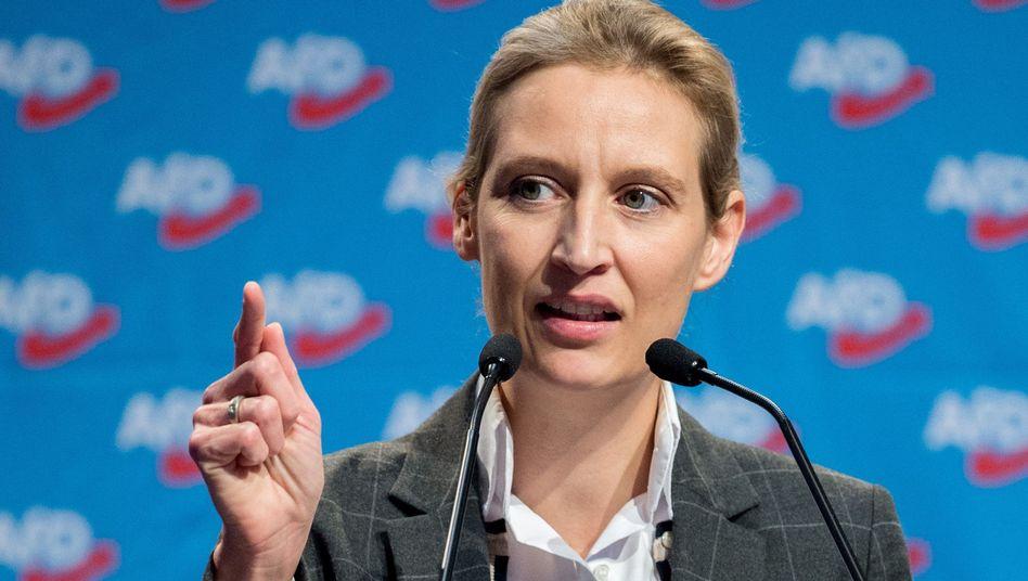 AfD-Politikerin Alice Weidel