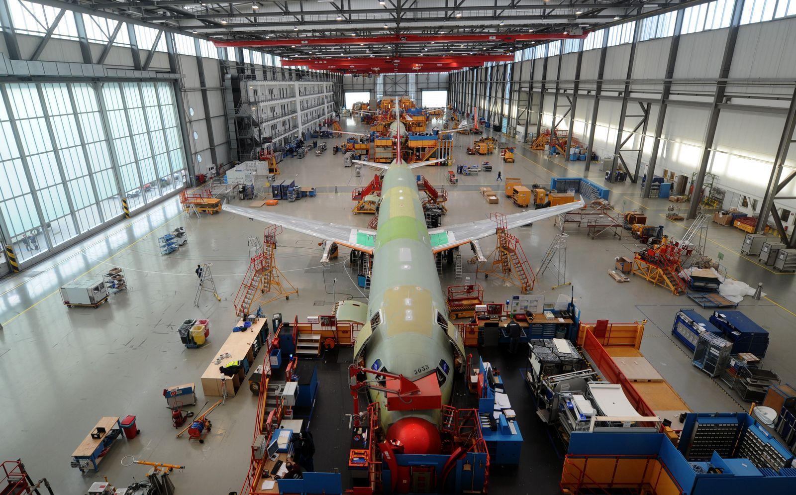 A320-Endmontagehalle