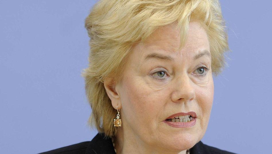 Stellt sich quer: Erika Steinbach, Präsidentin des Bundes der Vertriebenen (BdV)