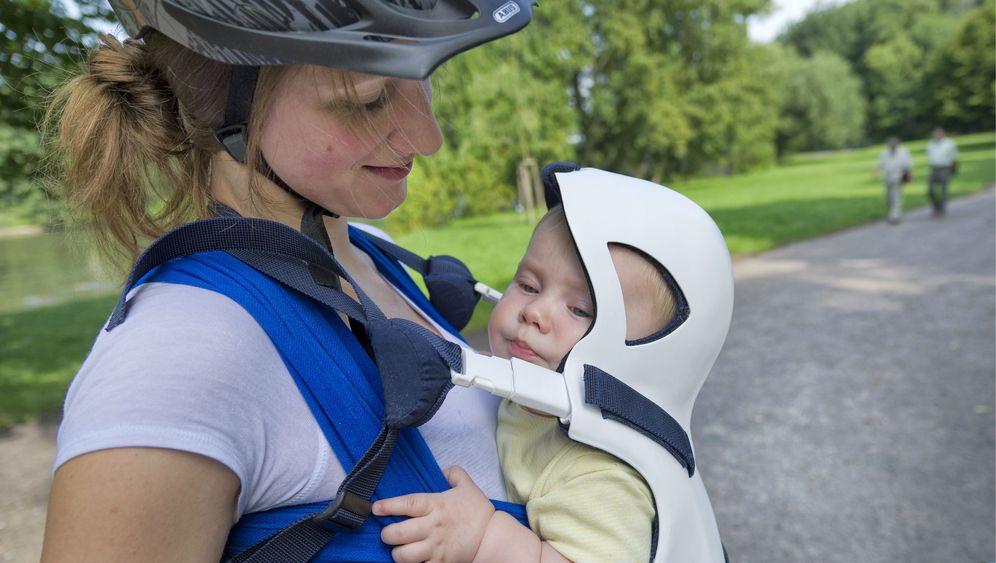 Sicher Fahrradfahren: Schutz für Babys