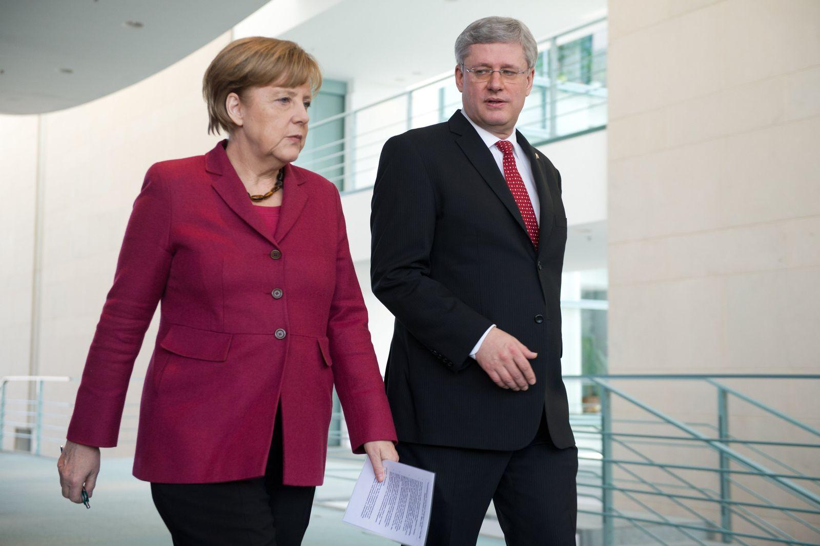 Kanadischer Premierminister besucht Deutschland