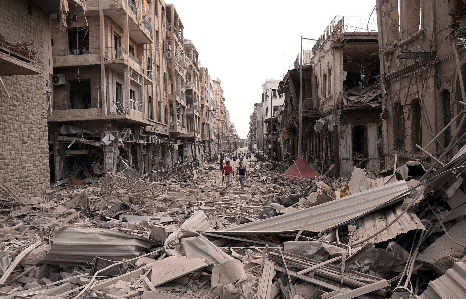 Syrien/ Kämpfe in Aleppo