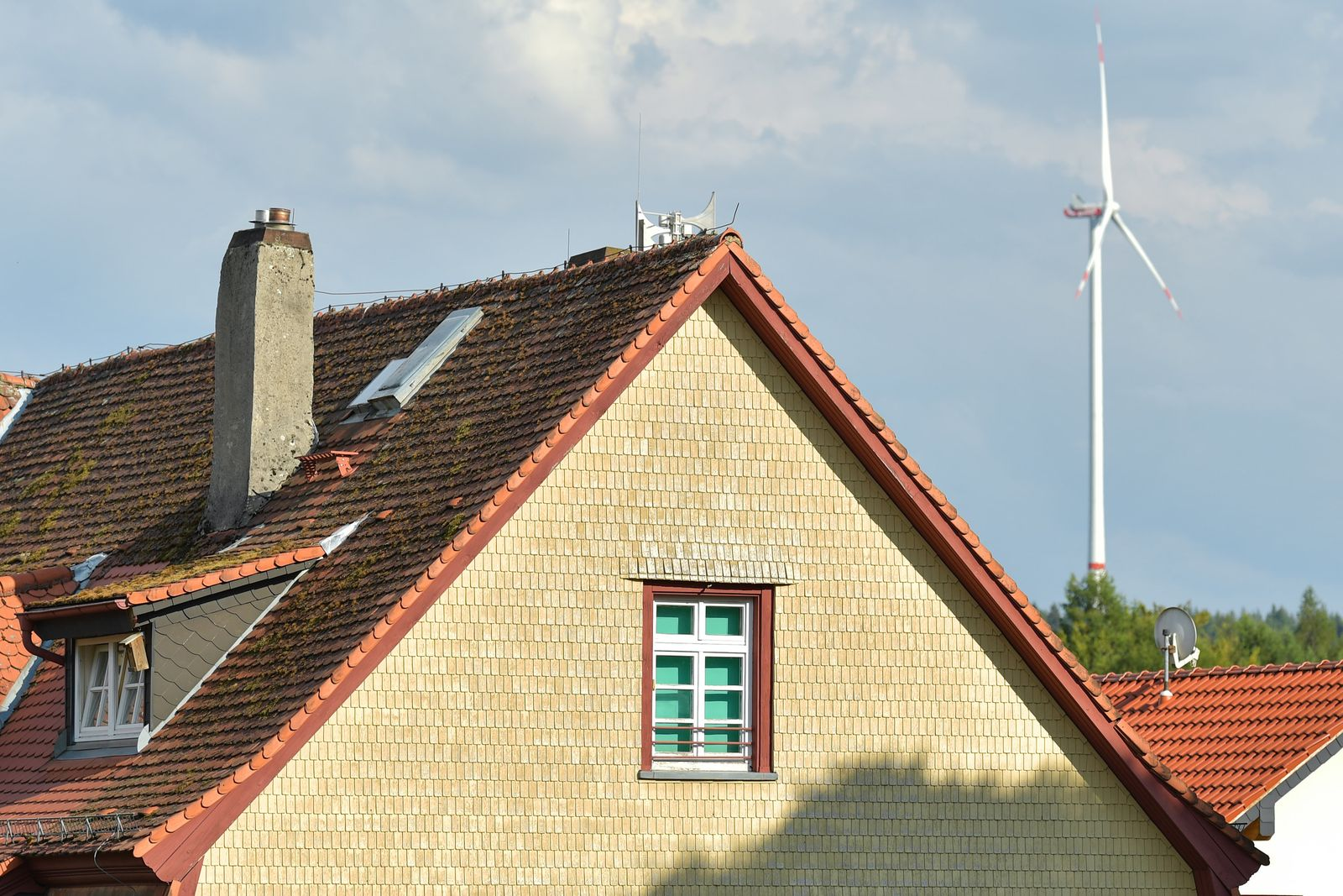 Proteste gegen Windpark