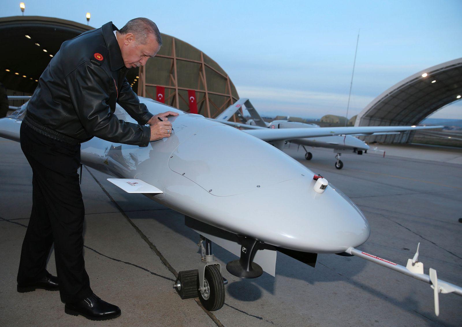 Erdogan signiert Drone