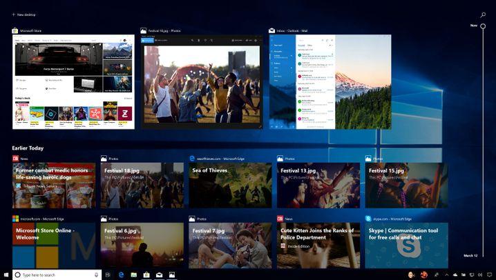 Neue Microsoft-Software: Das ist das Windows 10 April 2018 Update