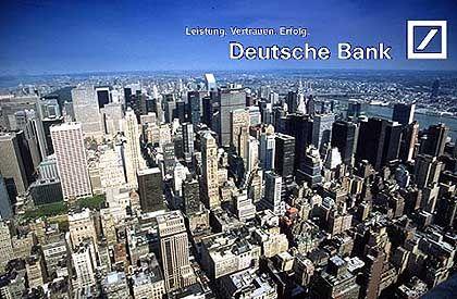 Platz 6 (7,06 Punkte): Deutsche Bank. Obwohl sich auch fünf deutsche Städte um die Olympischen Spiele bemühen, unterstützt die Deutsche Bank die Bewerbung von New York.