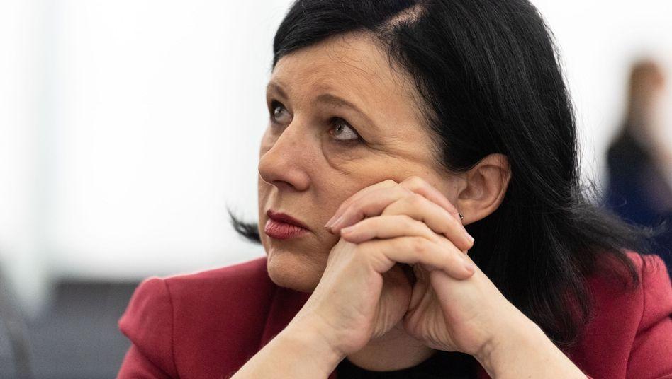 EU-Justizkommissarin Vera Jourova