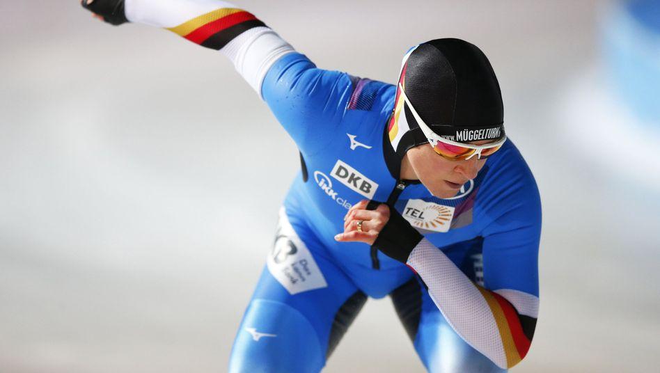 Die Deutsche Eisschnelllauf-Gemeinschaft sorgt sich wegen ihrer Schulden