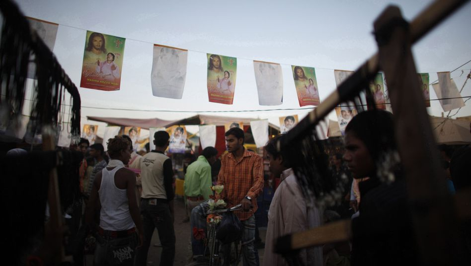 Christliches Festival in Sheikhupura: In der Hierarchie ganz weit unten