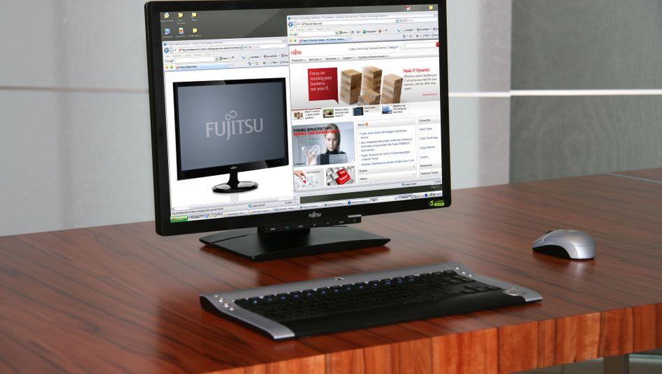 SUPA-Technik: Strom und Daten von der Tischplatte in den Bildschirm