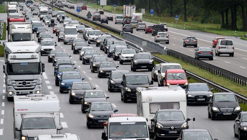 Autobahn A8 in Bayern