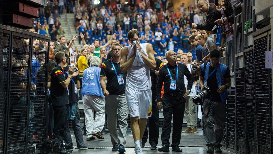 Nowitzki nach dem EM-Aus: Letztes Spiel in der Nationalmannschaft