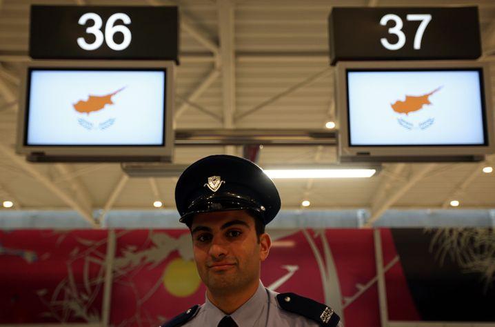 Hoffnungsträger: Der Flughafen von Larnaca wurde Ende 2009 eröffnet