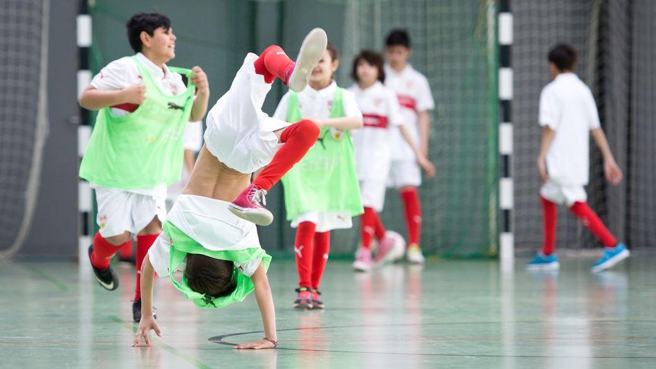 Selten so sportlich? Viele Schüler haben zu wenig Zeit für Bewegung