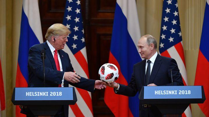 Trump trifft Putin: Der Gipfel von Helsinki