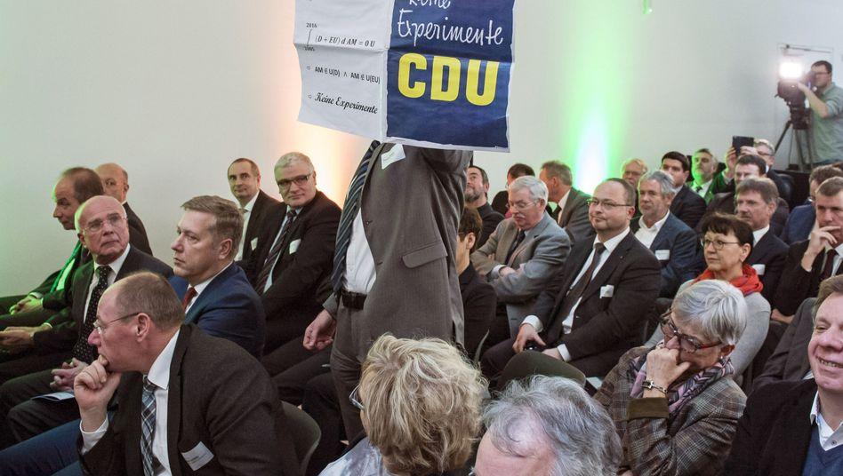 Keine Experimente - bei der Eröffnung des neuen Fraunhofer-Instituts in Halle